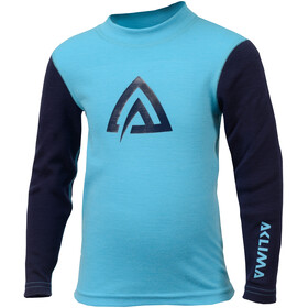 Aclima WarmWool - Sous-vêtement Enfant - bleu